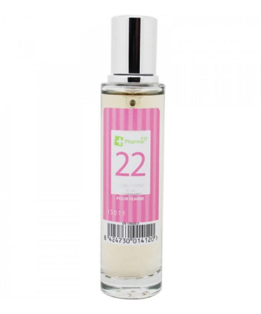 Agua de colonia perfume numero 22 de 30 ml mujer iap pharma belleza salud