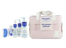 Bolso Mustela Mis Primeros Productos Rosa Recién Nacido Bebes Niños Niñas Regalo