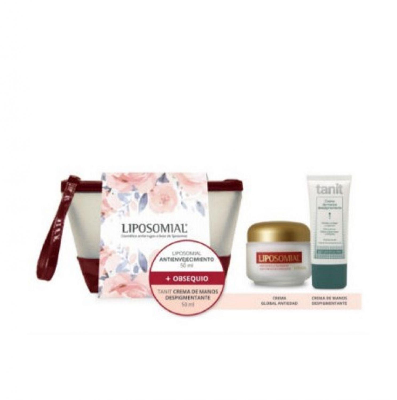 Pack Tratamiento Anti edad Liposomial Antienvejecimiento + Tanit Crema De Manos