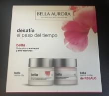 Pack Ahorro Tratamiento Anti-edad y Anti-manchas Noche y Dia Bella Aurora Cremas