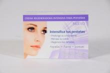 Crema Regeneradora Intensiva Crecimiento Regeneración De Pestañas Ojos Sensibles