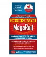 Megared 40 Capsulas Contribuye Al Normal Funcionamiento Del Corazón Omega-3