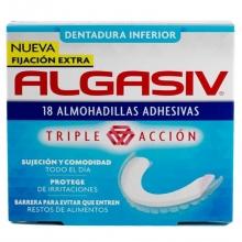 18 almohadillas adhesivas dentadura inferior Salud Bienestar Mujer Protege Hombre Bienestar Algasiv