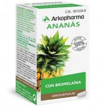 Arkocaps Ananas Arkopharma 48 cápsulas Rico en Bromelaína Alimentación Cuidados Salud