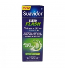 Spray Sublingual Accion Rapida Suavidor Sueño Flash Despertar Nocturno Descanso