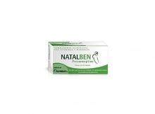 Natalben Preconceptivo 30 Cápsulas Complemento Alimenticio Contribuye Fertilidad