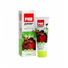 Pasta dentífrica Junior PHB Menta  Miraculous Protección Aplicación Salud Bienestar Limpieza Dental Bucal