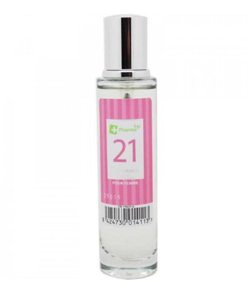 Agua de colonia perfume numero 21 de 30 ml mujer iap pharma belleza salud