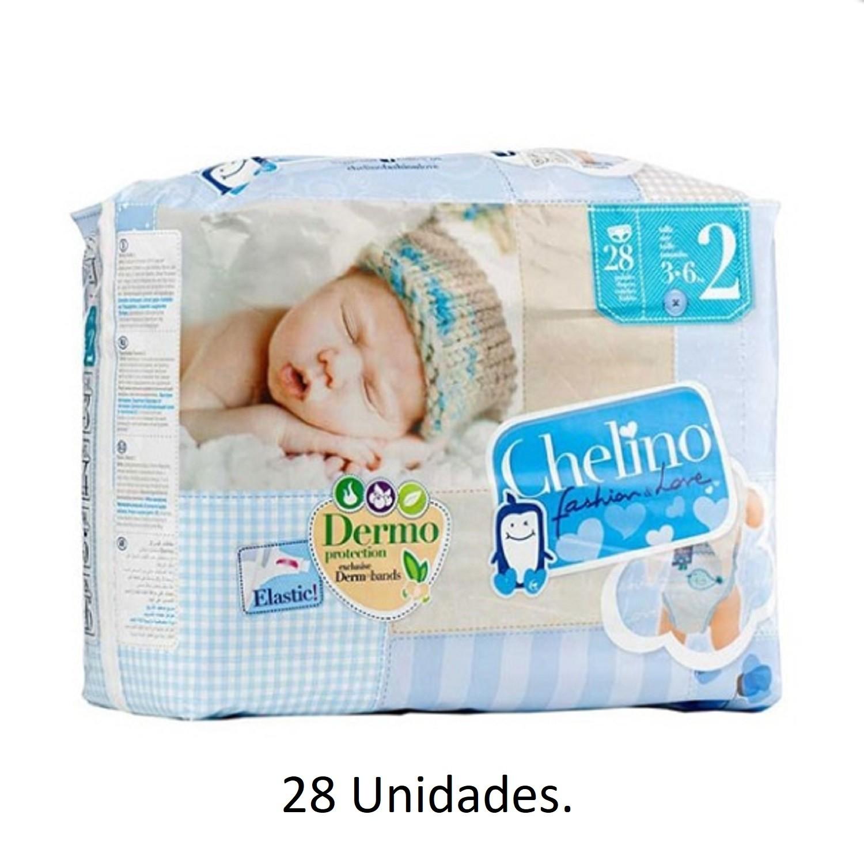 204 x Pañales Chelino Talla 4 de 9 a 15 Kilos Limpieza y Cuidad Pañal Bebes Pack