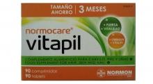 Vitapil Normocare 90 Comprimidos Complemento Alimenticio Cabello Piel Uñas Salud