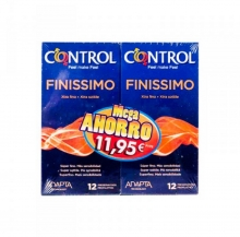 Pack Ahorro 24 Preservativos Control Finissimo Condones Sexo Sexual Placer Lote
