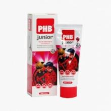 Pasta dentífrica Junior PHB Fresa Miraculous Protección Aplicación Salud Bienestar Limpieza Dental Bucal