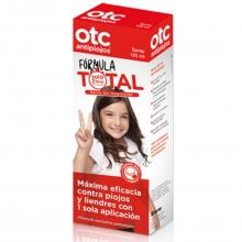 OTC Antipiojos Spray 125ml Fórmula Total Sin Insecticida Maxima Eficacia Bienestar Cuidados