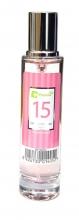 Agua de colonia perfume numero 15 de 30 ml mujer iap pharma belleza salud