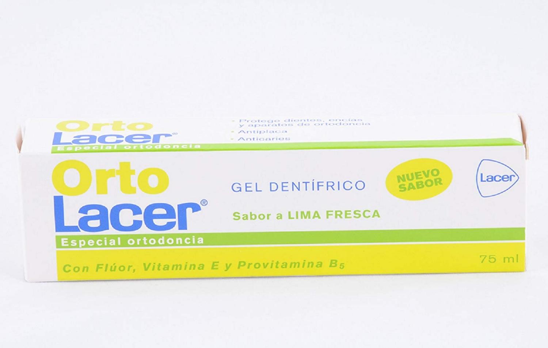 Dentifrico Pasta De Dientes Lacer Orto Especial Ortodoncia Limpieza Boca Salud