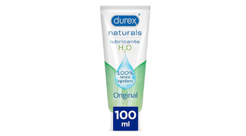 Lubricante Durex Naturals H20 Original 100ml Bienetar Sexual Sexo Salud Gel