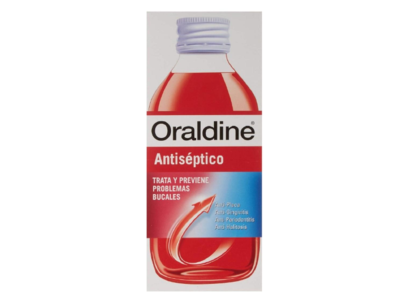 Oraldine Antiséptico 400 ml. Anti-placa Anti-gingivitis Salud Bucal Dental