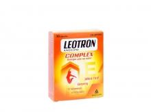 Leotron Complex 30 Cápsulas Energía Que Se Nota Reducir Fatiga Aumentar Físico