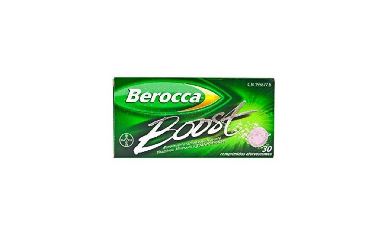 Vitaminas Rendimiento Mental Fisico Berocca Boost 30 Comprimidos Efervescentes