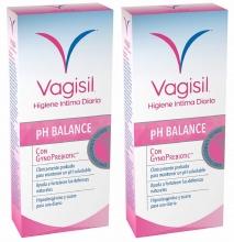 Vagisil Higiene Intima Diaria con GynoPrebiotic 250 ml 2x1 PH Balance Pack
