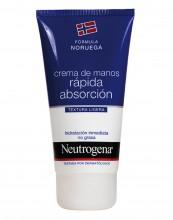 Crema de Manos Textura Ligera Neutrogena Hidratación Ligera Rápida Absorción