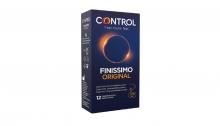 12 Preservativos Control Finissimo Original Condones Sexo Sexual Placer Lote