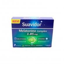 Suavidor Melatonina Complex 1,85mg Vitamina B6 30 Cápsulas Cuidados Bienestar