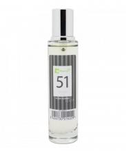 Agua de colonia perfume numero 51 de 30 ml hombre iap pharma belleza salud
