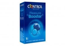 Pleasure Booster Control Anillo Vibrador Estimular Relaciones Sexuales Sexo