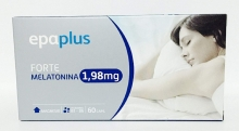 Epaplus Forte Melatonin 1,98 mg. 60 Cápsulas Sueño Ayuda Disminuir Tiempo Salud