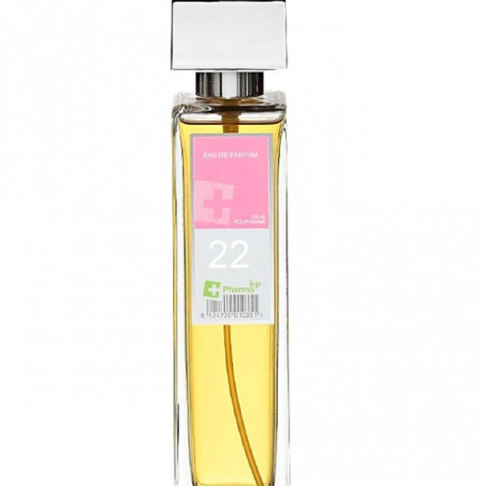 Agua de colonia perfume numero 22 de 150 ml mujer iap pharma belleza salud