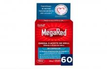 Megared 60 Capsulas Contribuye Al Normal Funcionamiento Del Corazón Omega-3