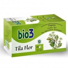 Bio3 Tila Flor Ecológica 25 Sobres Infusiónes Naturales Cuidados Salud Bienestar