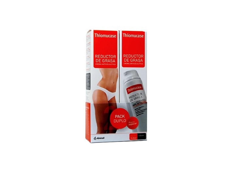 Pack Duplo Reductor De Grasas Crema Anticelulítica Thiomucase Salud Mujer Moda