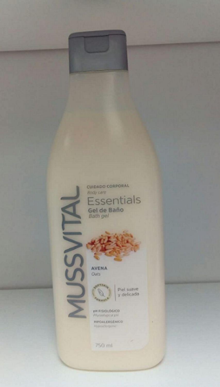 Cuidado Corporal Essentials Gel De Baño Avena Mussvital 750ml Piel Suave