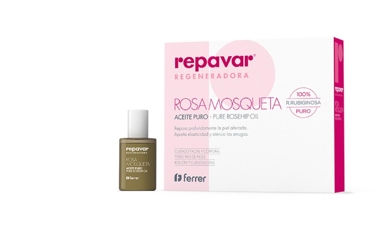 Aceite Puro de Rosa Mosqueta Repavar Regeneradora Repara Con Profundidad La Piel