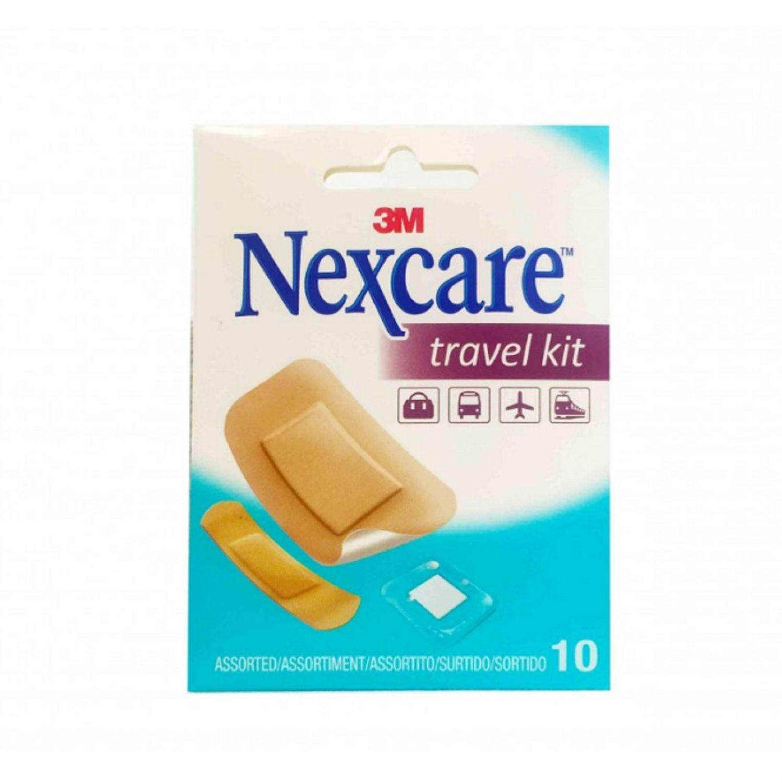 Travel Kit Nexcare 3M Set De Tiras Para Heridas Menores O Daños A La Piel Viajes