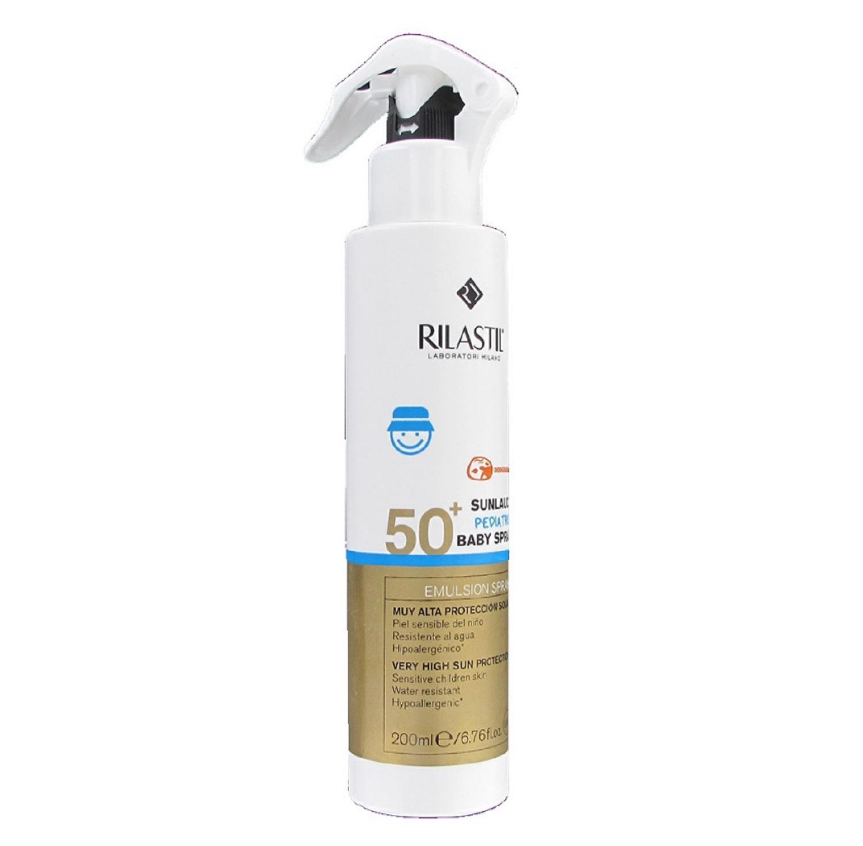 Proteccion Solar Rilastil Sunlaude Pediatrics Baby Spray 50+ 200ml Sol Salud