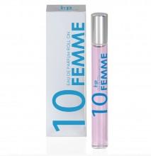 Perfume de Mujer Roll-on Nº 10 Iap Pharma 10Ml Colonia Belleza Salud Viaje Bolso