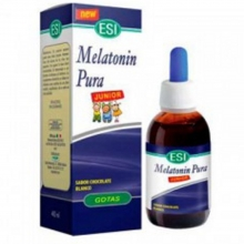 Melatonin Pura Junior ESI Gotas Sabor Chocolate Blanco Complemento Alimenticio Melatonina