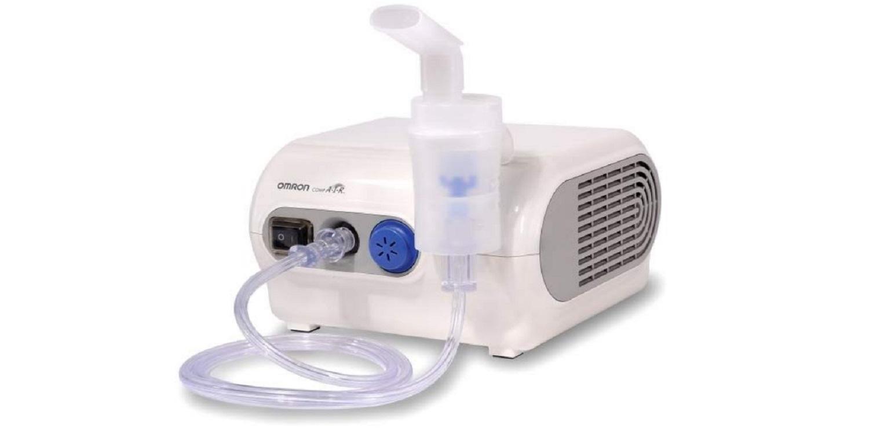 Nebulizador Compresor Omron NE-C28P Pulmones Comodo Rapido Respiracion Salud