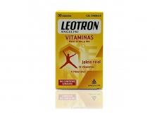 Leotron Angelini Vitaminas para el día a día 30 Comprimidos Rendimiento Físico