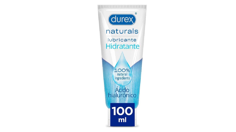 Lubricante Durex Naturals Hidratante 100ml Bienetar Sexual Sexo Salud Gel Placer