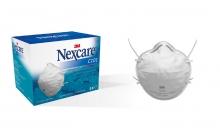 5 Mascarillas Desechables Para Particulas Nexcare Proteccion Polvo Polen Virus