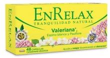 Enrelax Valeriana 48 Capsulas Traquilidad Natural Ayuda Relajar Descanso Sueño