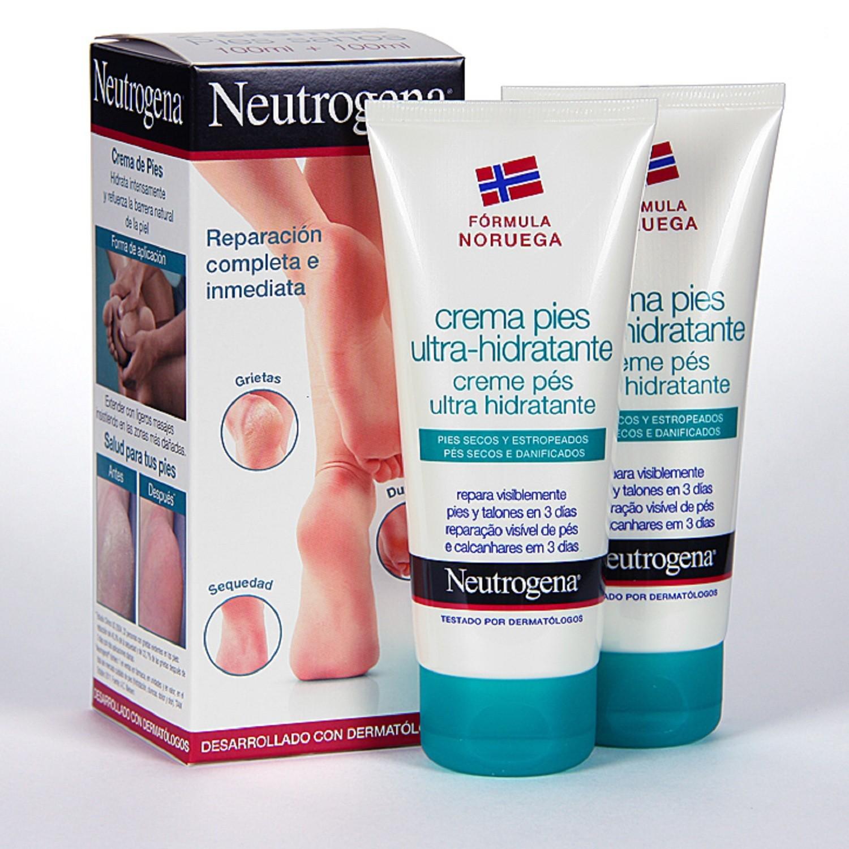 Duplo de Crema de Pies Ultra-Hidratante 2x100ml Neutrogena Cuidado Hidratación