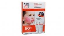 Crema Regeneradora Facial Para Piel Atopica Leti AT4 Pack Duplo 2x50ml Salud