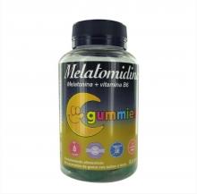 Melatomidina 50 Caramelos de Goma Sabor Fruta Vitamina B6 Conciliar el Sueño