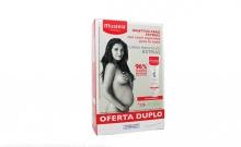 Crema Prevencion Estrias Mustela Duplo 2x250ml Mujeres Seguridad Bebe Salud