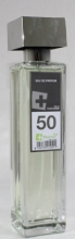 Agua de colonia perfume numero 50 de 150 ml hombre iap pharma belleza salud